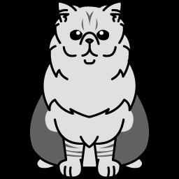 Persian – Silver Tabby